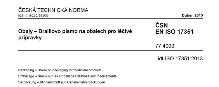 Česká technická norma